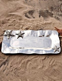 Floating Starfish Long Serving Platter