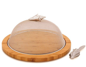 Beach Picnic Covered Serving Board Set - Nautical Luxuries