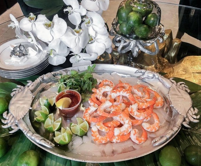Coastal Crab Party Platter - Nautical Luxuries