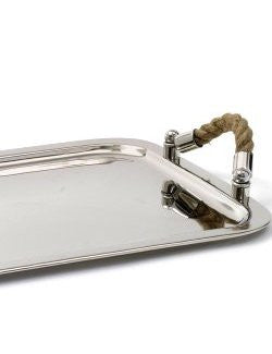 Rope Handled Nautical Serving Tray - Nautical Luxuries