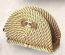 Italian Design Rope Napkin Holder - Nautical Luxuries