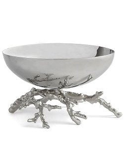 Coral Base Nickel Centerpiece/Display Bowl