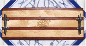 Cleat Handle Long Cheese Boards - Nautical Luxuries