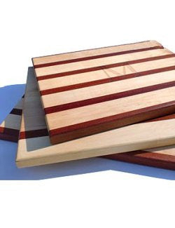 Solid Mahogany & Maple Chopping Blocks