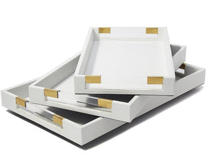 Superyacht Stingray Serving/Bar Tray Sets - Nautical Luxuries