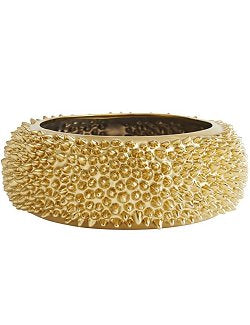 Gilded Sea Urchin Centerpiece/Accent Bowl - Nautical Luxuries