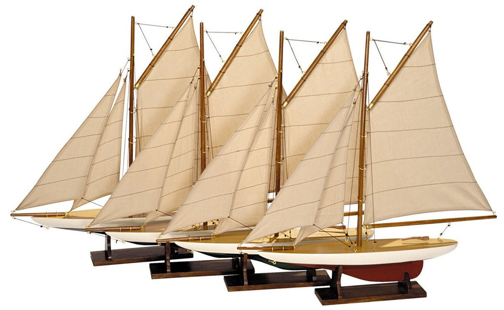 Replica Pond Yacht Model Set