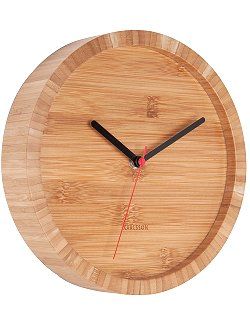 Natural Beach Bamboo Wall Clock - Nautical Luxuries