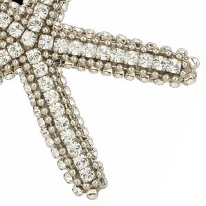 Swarovski Crystals Starfish Accents - Nautical Luxuries