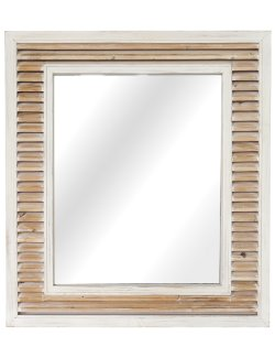 Cape May Cottage Shutters Wall Mirror - Nautical Luxuries