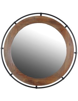 Wheelhouse Wall Mirror - Nautical Luxuries