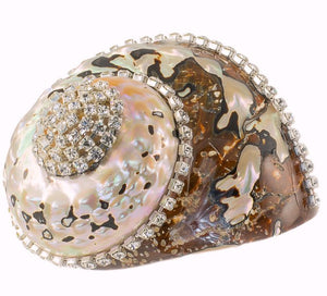 Neptune's Jewels Crystal Shell Collection Turbo Sarmaticus - Nautical Luxuries
