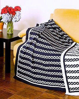 Nautical Classics Medium Weight Cotton Throws - Nautical Luxuries