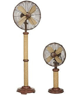 Nautical Rope Base Indoor Fans