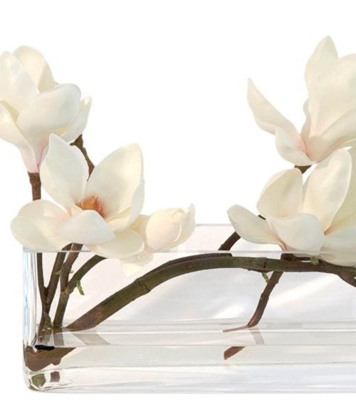 Magnolia Blossoms Yacht Silks Arrangement