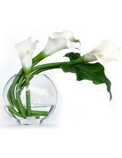 Calla Lily Yacht Silks Arrangement
