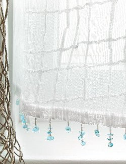 Sea Splash Sheer Curtains