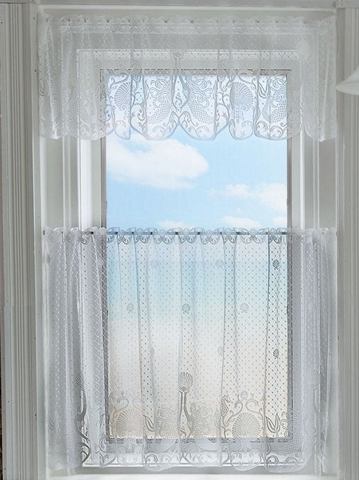 Mystic Mermaids Sheer Curtain Panels