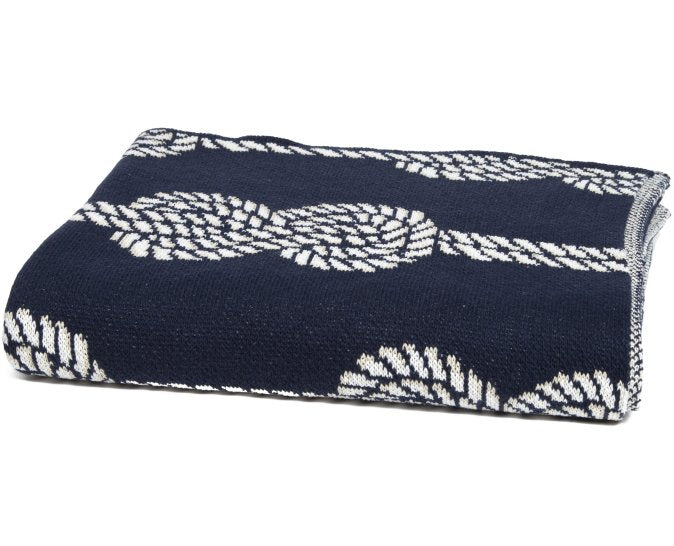 Knotted Up Eco-Conscious Throw - Nautical Luxuries