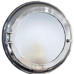 Stateroom Porthole Cabinet Storage Mirror - Nautical Luxuries