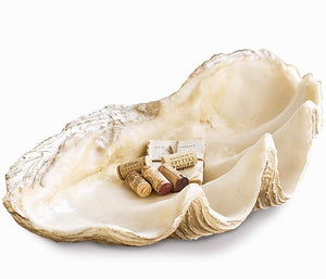 Atlantis Giant Clamshell Display Bowl - Nautical Luxuries