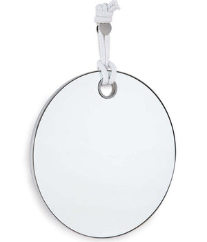 Knotted Round Wall Mirror - Nautical Luxuries