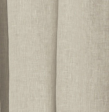 Hidden Tab Linen Beach Cottage Panels