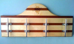 Nautical Cleat Wall Racks - Nautical Luxuries