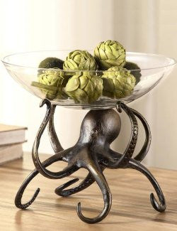 Denizen Of The Deep Bowl Centerpiece - Nautical Luxuries