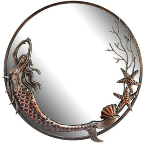 Mermaid Dance Wall Mirror - Nautical Luxuries