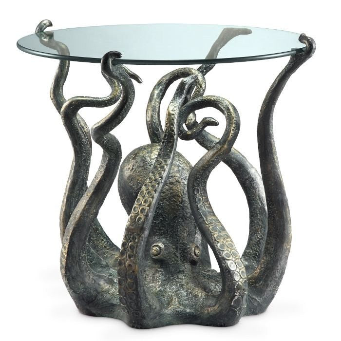 Denizen Of The Deep Accent Table - Nautical Luxuries