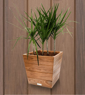 Yachting Teak Collection Solid Wood Planters - Nautical Luxuries