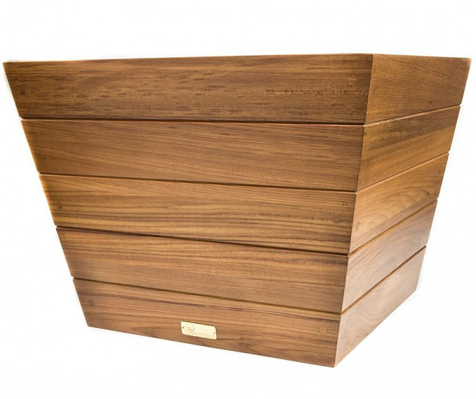 Yachting Teak Collection Solid Wood Planters