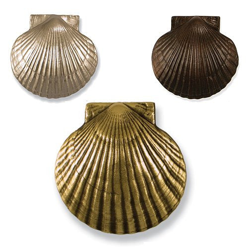 Beach Cottage Scallop Shell Door Knocker