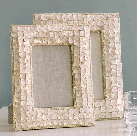 Mother Of Pearl Frames Nautical Luxuries