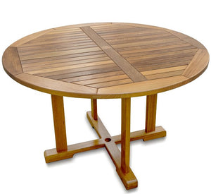 Yachting Teak Collection Round Dining Table - Nautical Luxuries