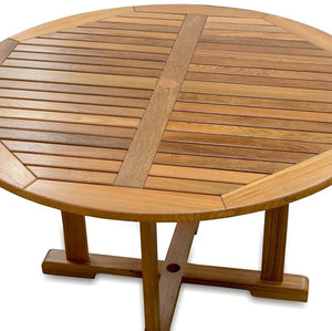 Yachting Teak Collection Round Dining Table