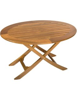 Yachting Teak Collection Adjustable Height Coffee Table