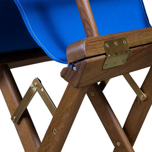 Yachting Teak Collection Sunbrella® Director's Chairs - Nautical Luxuries