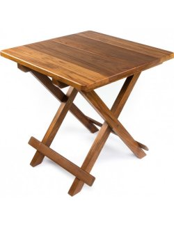 Yachting Teak Collection Small Folding Table