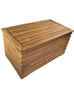 Yachting Teak Collection Decking Style Storage Box