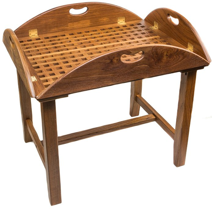 Yachting Teak Collection Butler's Table