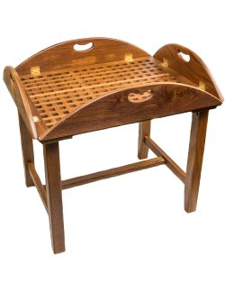 Yachting Teak Collection Butler's Table - Nautical Luxuries
