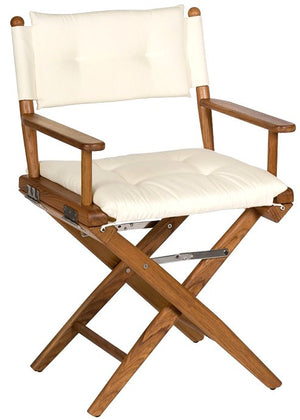 Yachting Teak Collection Luxe Cushion Deck Chairs