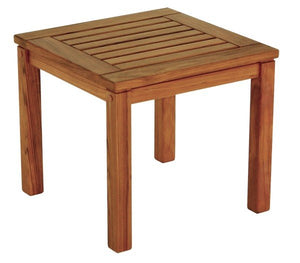 Yachting Teak Collection Square Side Table - Nautical Luxuries