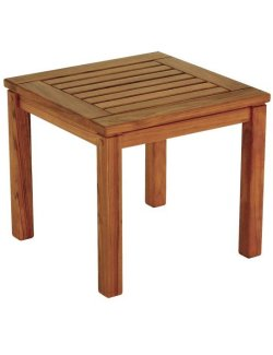 Yachting Teak Collection Square Side Table