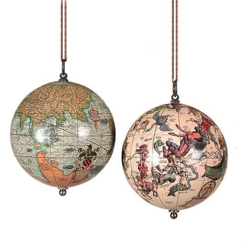 Vintage Earth & Heavens 4-Pc. Ornament Set - Nautical Luxuries