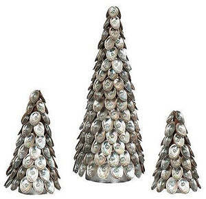 Pearl Gem Abalone Shell Tabletop Tree - Nautical Luxuries