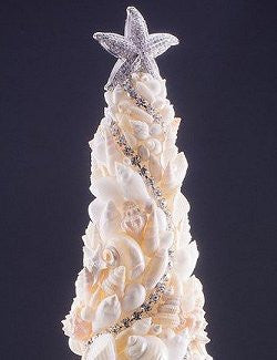 Swarovski Crystals Seashell Tree