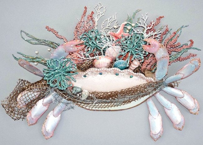Pastel Fantasy Crab Door/Wall Decor